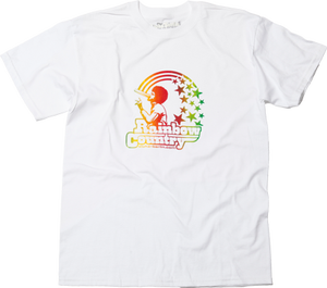 Image of RAINBOW COUNTRY T-SHIRT (white)