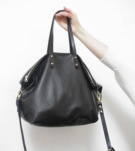Image of Top Zip Satchel
