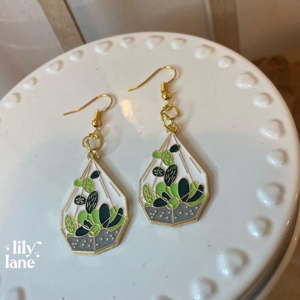 Image of Terrarium Earrings