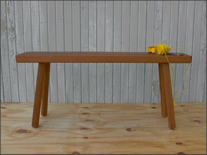 Image of bench for two // custom built to order