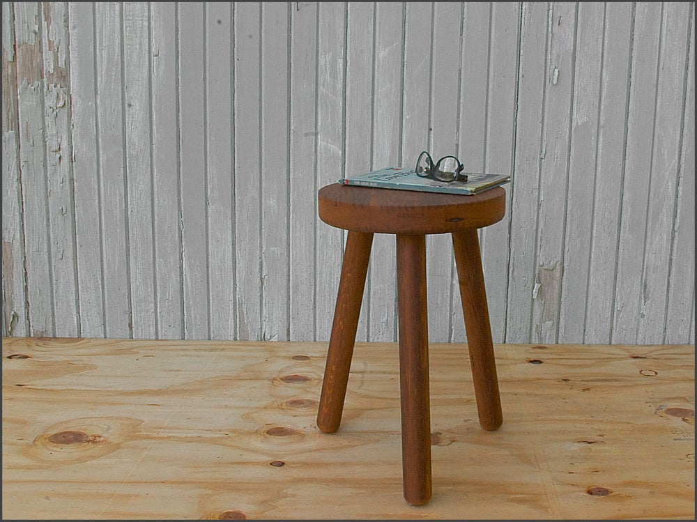 Image of milking stool // custom built to order