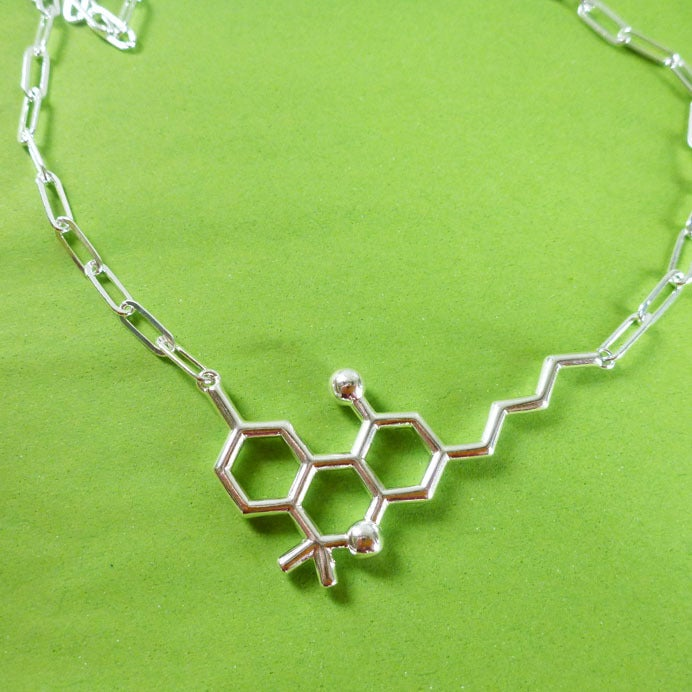 Image of THC necklace - chunky