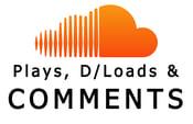Image of SoundCloud Plays, Comments & Downloads