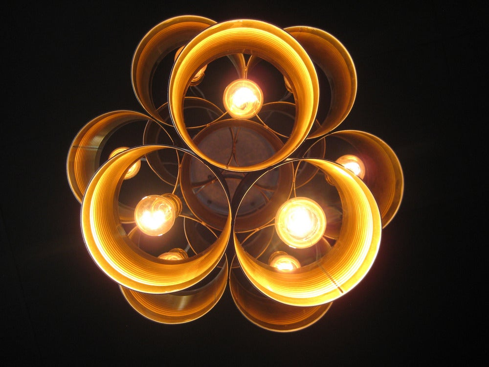 Image of can-can chandelier