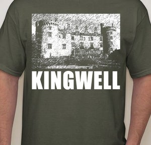 Image of Kingwell - Foundations Men's 100% Cotton T-shirt in Military Green