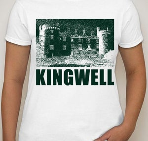 Image of Kingwell - Foundations Ladie's 100% Cotton T-shirt in White