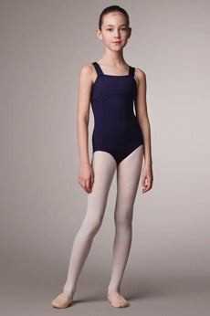 Image of Square Neck - Wide Strap Leotard