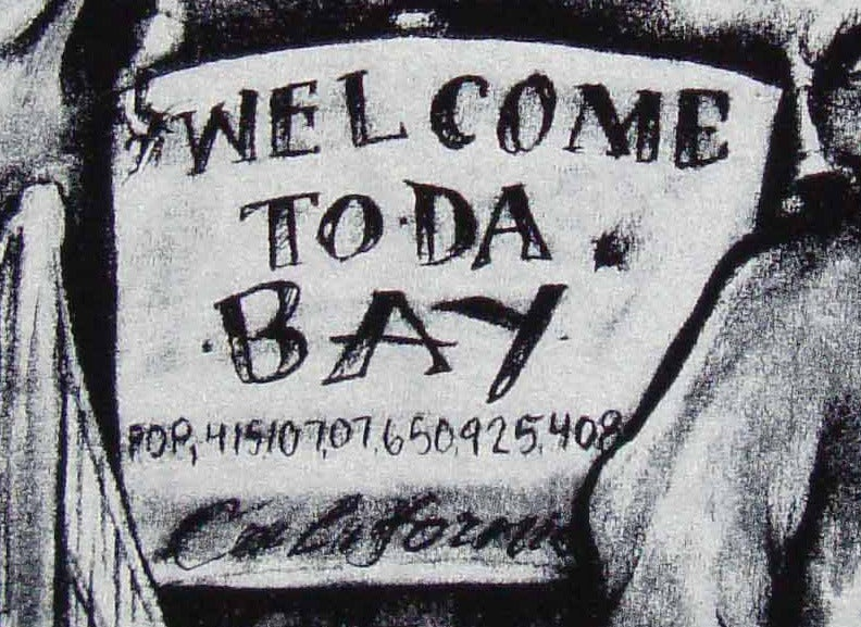 Image of Mens - Welcome To Da Bay