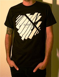 Image of NVRVD - Shirt broken windows design