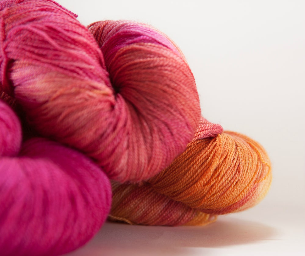 "Image of ARACHNE Lace, ""Jubilee"" Merino + Silk, 1300 yards"