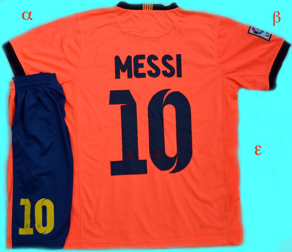 more photos 215c6 2d06a Barcelona Away Kit Messi