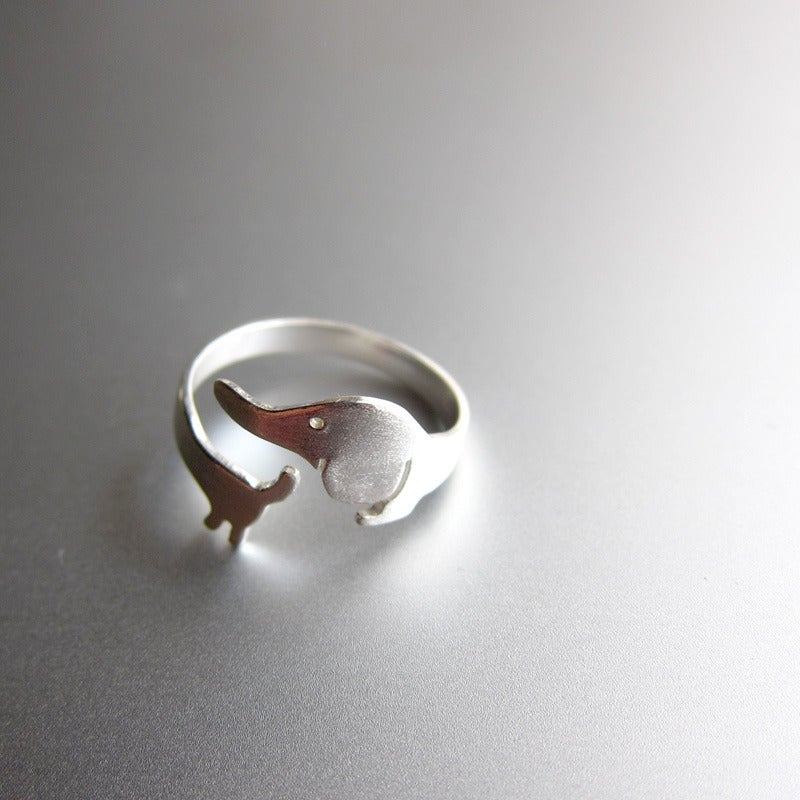 My Little Dog (Puppy) Ring - Handmade Sterling Silver Ring | Smiling ...
