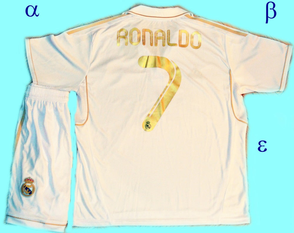 online retailer c48c5 f3f3f Real Madrid Home Kit 11/12 Ronaldo
