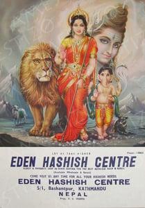 Image of Eden Hashish Centre Print 04