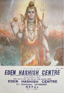 Image of Eden Hashish Centre Print 08