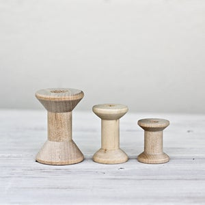 Image of Wooden Spools