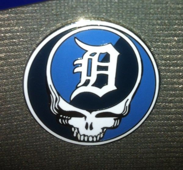 Image of Detroit Stealie Pin