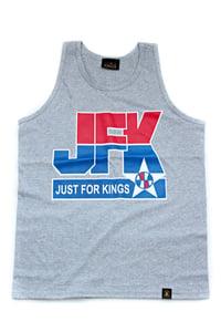 Image of JFK Basketball Tank (Gray)