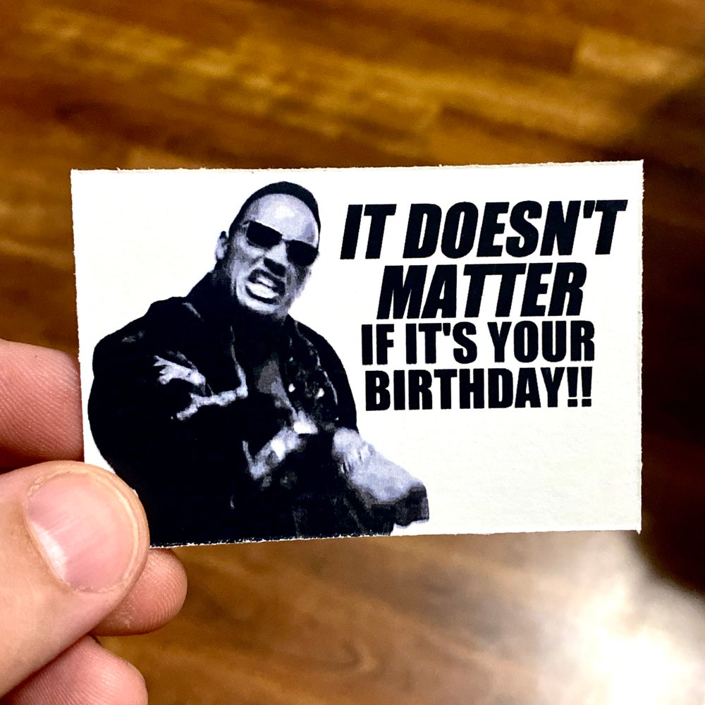Is It Your Birthday?<br>Business Casual Cards