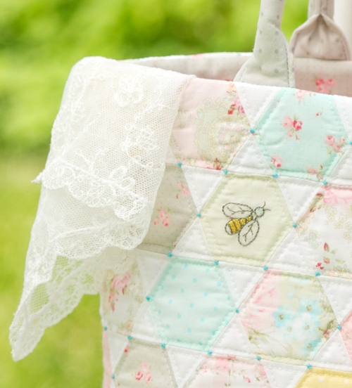 Image of PAPER VERSION - Honey Bee Bag Pattern