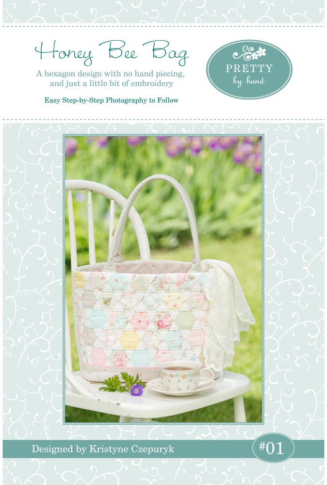 Image of PDF VERSION - Honey Bee Bag Pattern
