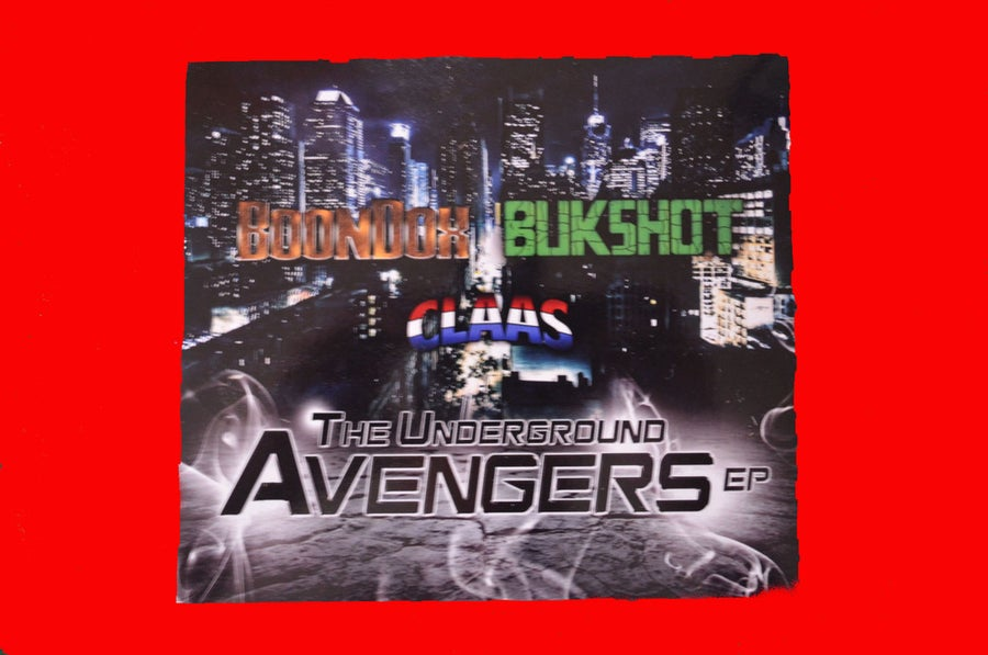 Image of The Underground Avengers EP