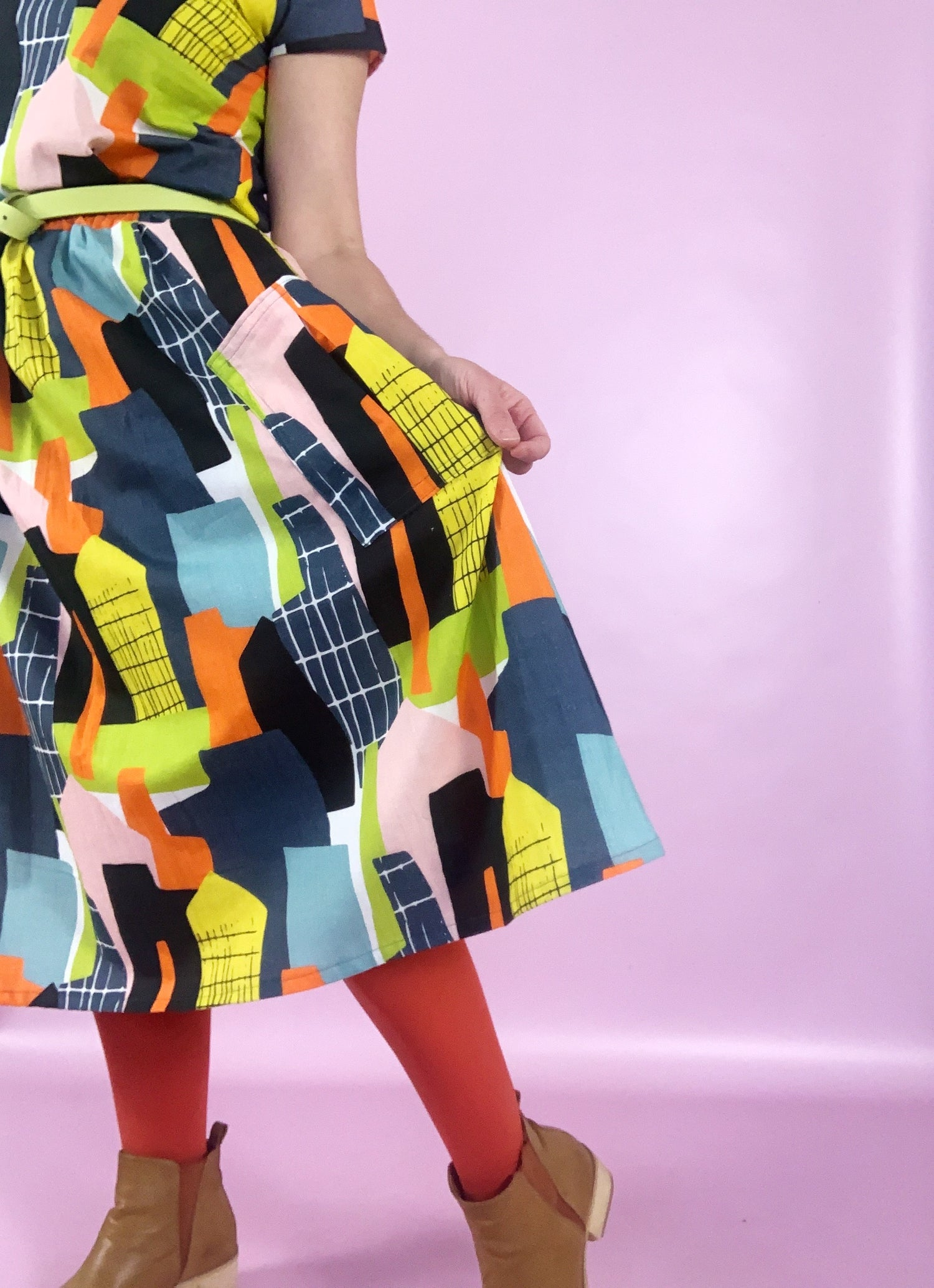 Ready Made Concrete Jungle Rachael Skirt with free postage