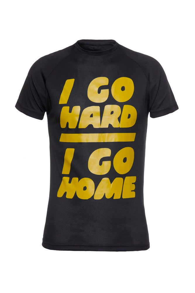 Image of I Go Hard/I Go Home - Black