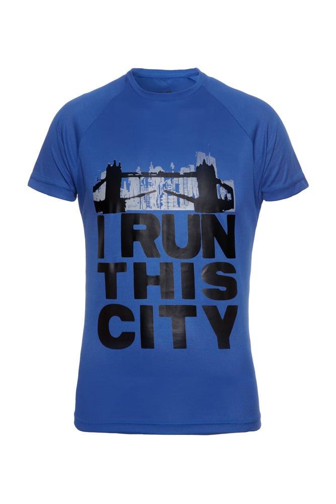 Image of I Run This City (London) - Royal Blue