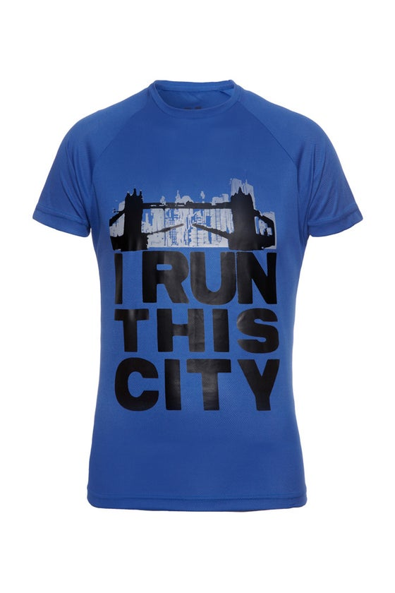Image of I Run This City (London) - Royal Blue