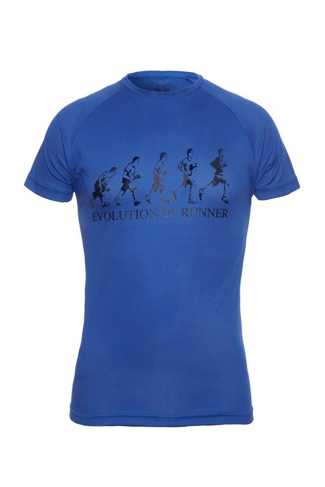 Image of Evolution of Runner - Royal Blue