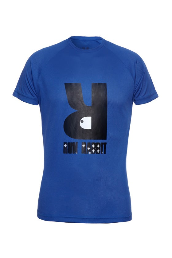 Image of Run Rabbit Logo Tee - Royal Blue