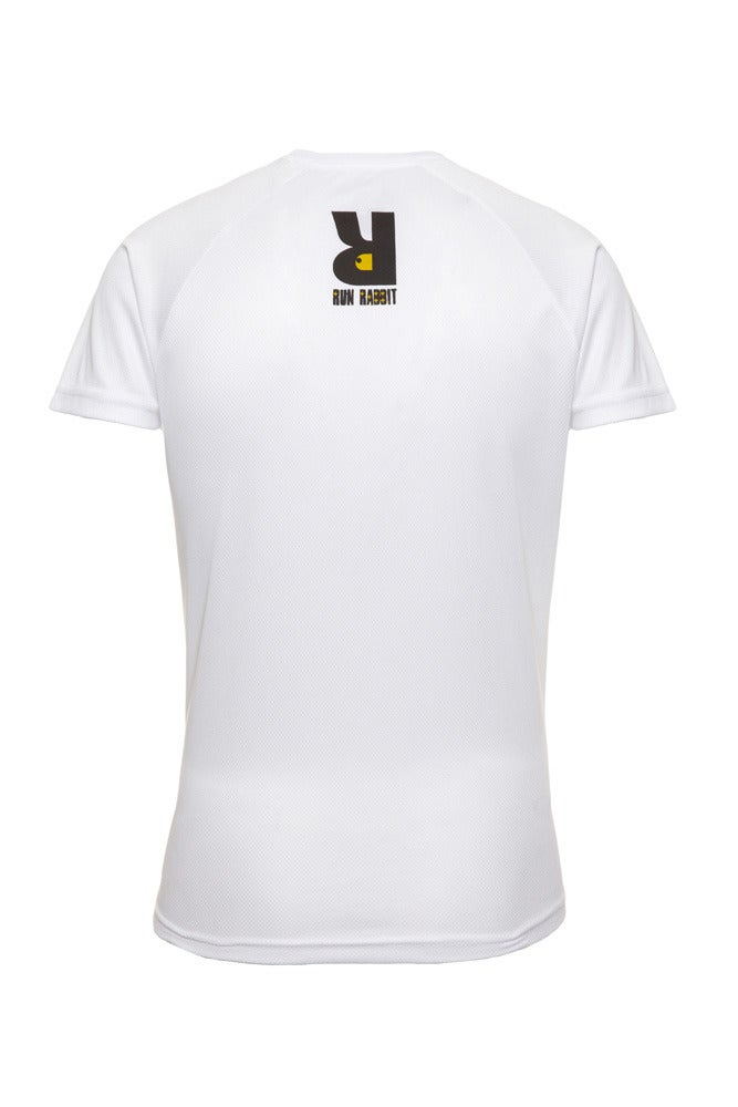 Image of Run Rabbit Logo Tee - White
