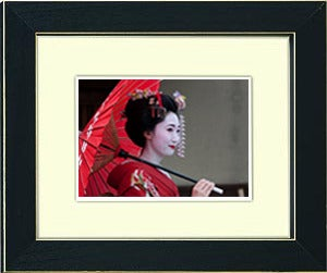 Image of framed print of original photograph - geisha 1
