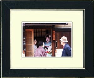 Image of framed print of original photograph - geisha 2
