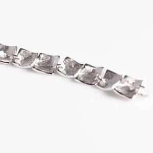 Image of Handgemaakte armband zilver, juwelen, Antwerpen, juweelontwerpster