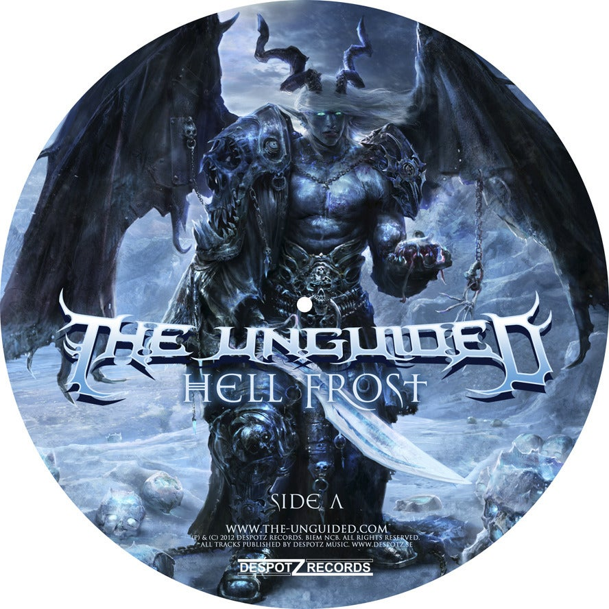 Image of The Unguided - Hell Frost (Picture Disc LP)