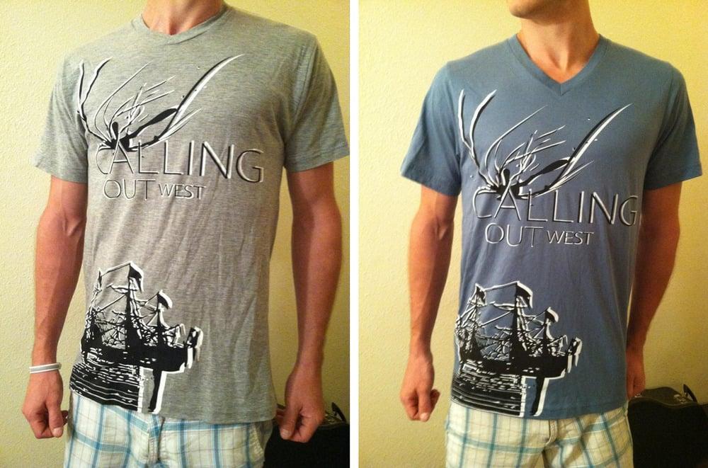 Image of Boat V-Neck Shirt