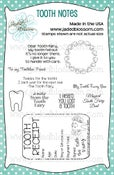 Image of Tooth Notes (4x6)  ~ Peachy
