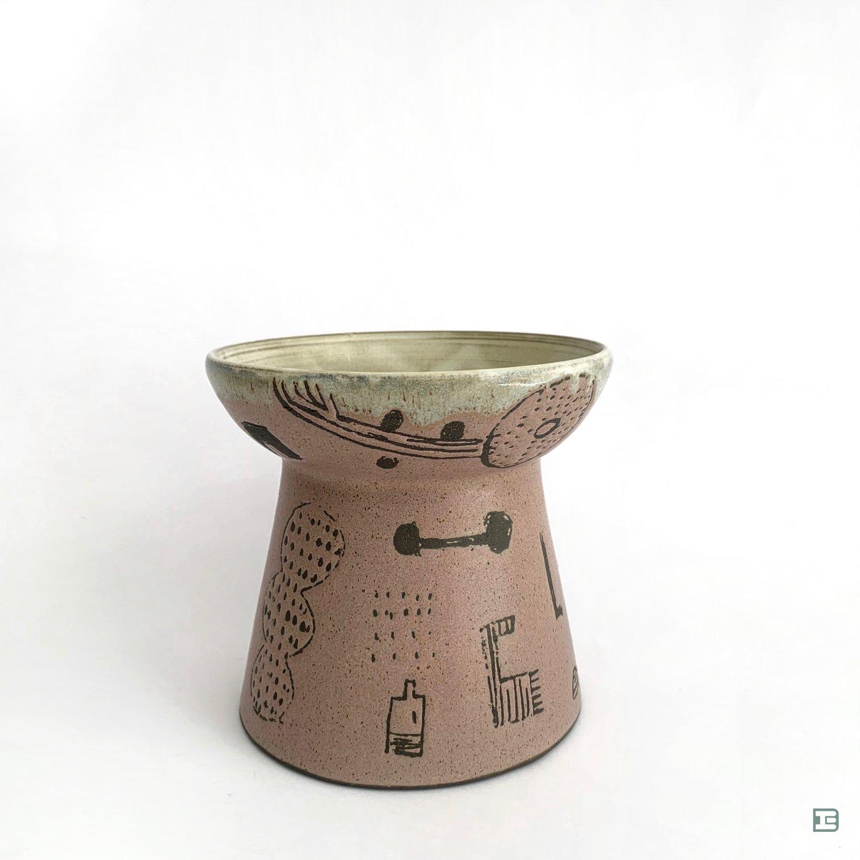 Kayo Suzuki   cat/small dog  food bowl KS519