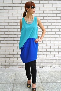 Image of Colour Block Tunic/Dress