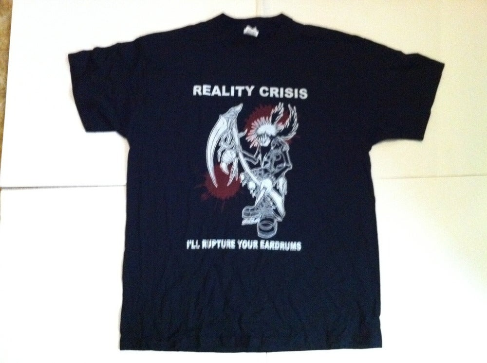 Image of REALITY CRISIS - PUNK REAPER T-SHIRT