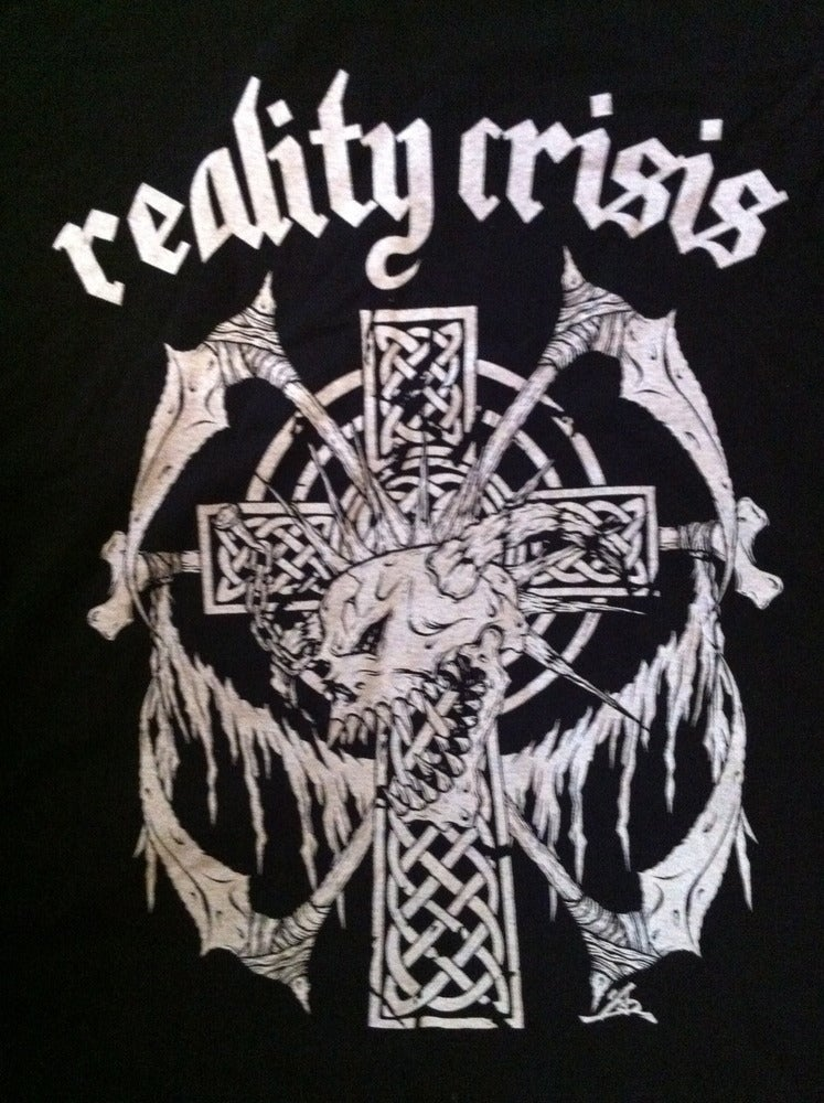 Image of REALITY CRISIS - CROSS & SKULL T-SHIRT