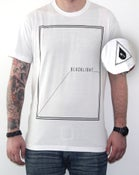 Image of Black Light - Square Tee - WHT