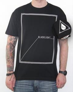 Image of Black Light - Square Tee - BLK