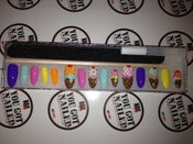 Image of Ice Cream Stiletto Nails