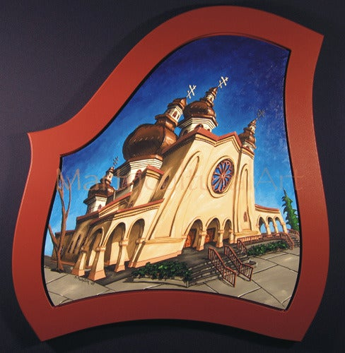 Image of St. Vladimir's Ukrainian Orthodox Congregation Original Painting