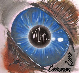 "Image of ViliFi ""Common Eyes"" CD"