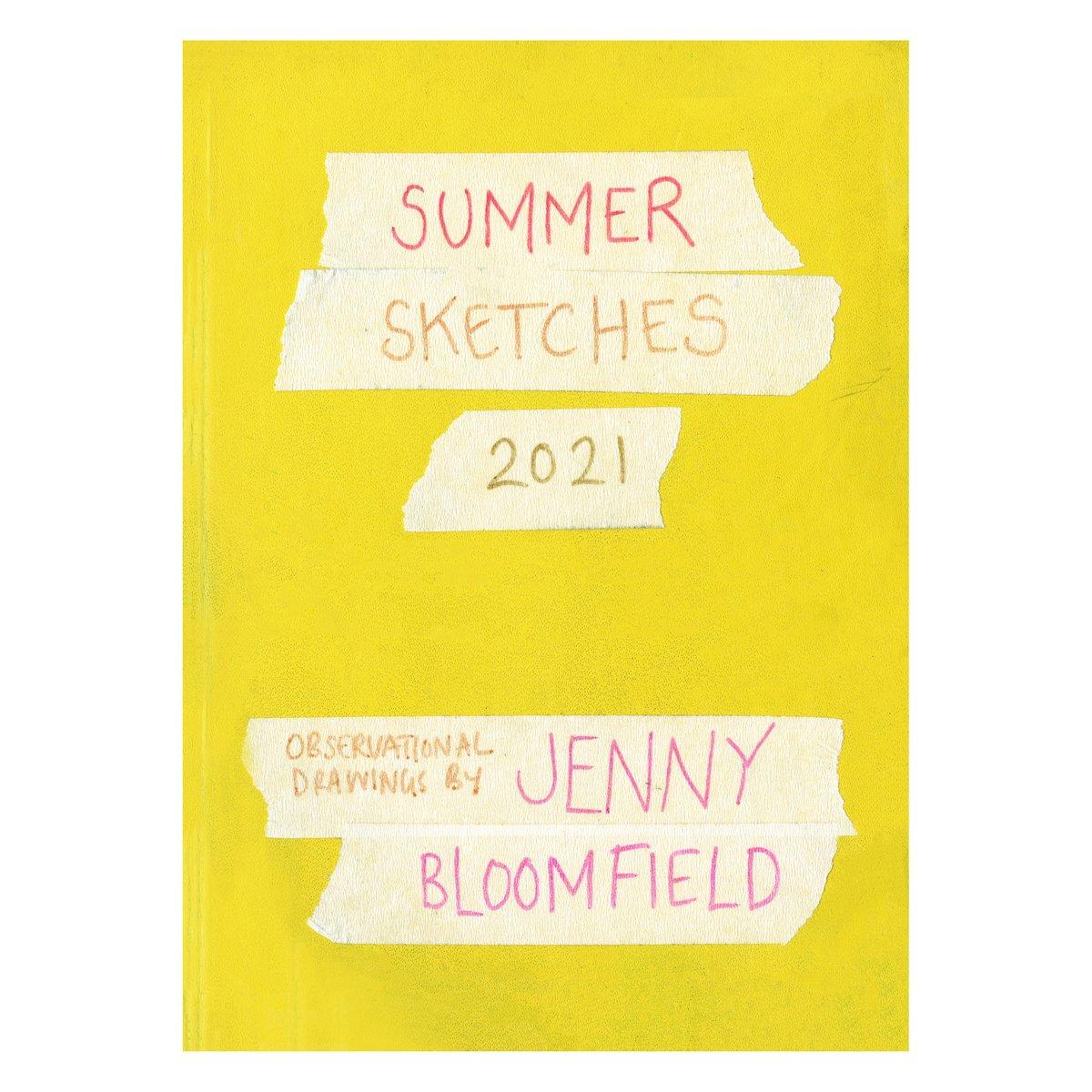 Image of **PREORDER** Summer Sketches - Sketchbook Zine