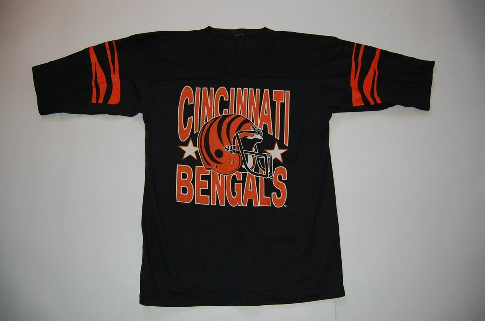 Image of Vintage Cincinnati Bengals  T-Shirt Jersey